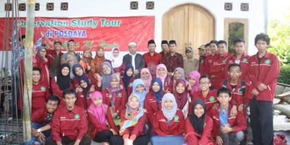 Guru Besar dan Dekan Berkunjung Ke Posdaya Al-Amin