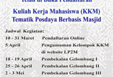 Kelompok KKM Posdaya Masjid 2015