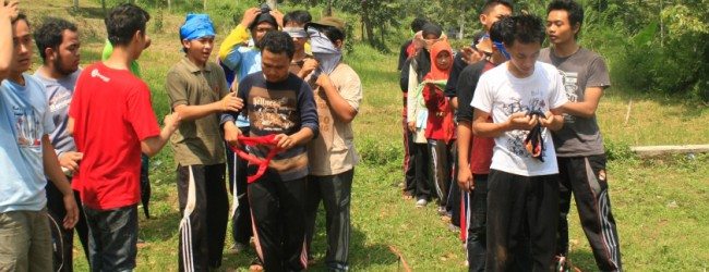 Kembangkan Kreativitas Volunteer Posdaya lewat Outbond