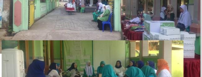 Jelang OST Fatayat Jatim di Posdaya Masjid Barokatul Qur'an