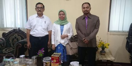 Studi Banding ke LP2M UIN Surabaya